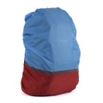 2 PCS Outdoor Mountaineering Color Matching Luminous Backpack Rain Cover, Size: XL 58-70L(Red + Blue)