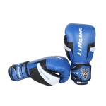 LIHUANG S1 Fitness Boxing Gloves Adult Sanda Training Gloves, Size: 12oz(Blue)