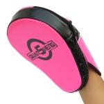 QUANSHENG HSG-20 Arc Boxing Hand Target Sanda Fighting Training Target(Fluorescent Pink)