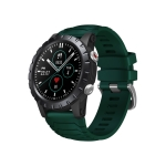 Zeblaze Stratos GPS 1.32 inch Color Touch Screen Bluetooth 5.0 50m Waterproof Smart Watch, Support Sleep Monitor / Heart Rate Monitor / Sports Mode (Green)