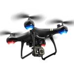 LSRC LF608 Pro 2.4G Wifi FPV 4K HD Camera RC Drone Quadcopter, Single Camera (Black)