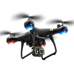 LSRC LF608 Pro 2.4G Wifi FPV 4K HD Dual Camera RC Drone Quadcopter, Dual Camera (Black)