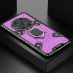 For Honor Magic3 Space PC+TPU Shockproof Case with Ring Holder(Purple)