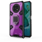 For Honor X20 Space PC+TPU Shockproof Case with Ring Holder(Purple)