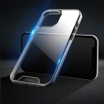 X-level Oxygen II Series Shockproof Transparent TPU + Glass Protective Case For iPhone 13