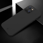 X-level Wing Series Shockproof Ultra Thin Matte Protective Case For iPhone 13(Transparent Black)