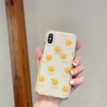 Thickened TPU Shockproof Protective Case For iPhone XR(Smile)