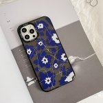 Thickened TPU Shockproof Protective Case For iPhone 12(Flower)