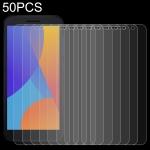 For Alcatel 1 2021 50 PCS 0.26mm 9H 2.5D Tempered Glass Film