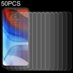 For Lenovo K13 Note 50 PCS 0.26mm 9H 2.5D Tempered Glass Film