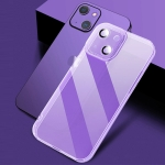 X-level Puppil Shadow Series Shockproof TPU Protective Case For iPhone 13 mini(Purple)