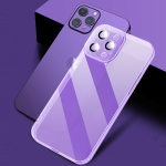 X-level Puppil Shadow Series Shockproof TPU Protective Case For iPhone 13 Pro Max(Purple)