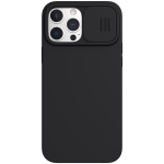 NILLKIN CamShield MagSafe Magnetic Liquid Silicone + PC Full Coverage Case For iPhone 13 Pro(Black)