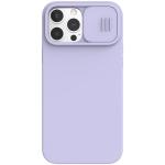 NILLKIN CamShield Liquid Silicone + PC Full Coverage Case For iPhone 13 Pro Max(Purple)