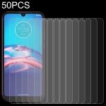 For Motorola Moto E6i 50 PCS 0.26mm 9H 2.5D Tempered Glass Film