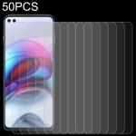 For Motorola Edge S 50 PCS 0.26mm 9H 2.5D Tempered Glass Film