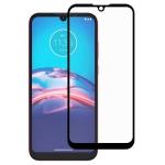 For Motorola Moto E6i Full Glue Full Cover Screen Protector Tempered Glass Film
