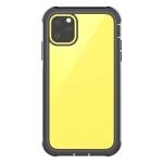 Waterproof Dustproof Shockproof Transparent Acrylic Protective Case For iPhone 11(Black)