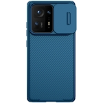 For Xiaomi Mi Mix 4 NILLKIN Black Mirror Pro Series Camshield Full Coverage Dust-proof Scratch Resistant PC Case(Blue)