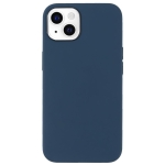 Fully Wrapped Shockproof Silicone Protective Case For iPhone 13(Dark Blue)