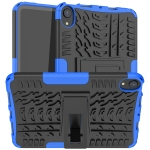 Tire Texture TPU + PC Shockproof Case with Holder For iPad mini 6(Blue)