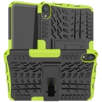Tire Texture TPU + PC Shockproof Case with Holder For iPad mini 6(Green)