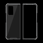 For Samsung Galaxy Z Fold2 5G Shock-resistant Transparent Acrylic TPU Protective Case
