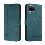 For Samsung Galaxy A12 Retro Skin Feel Horizontal Flip Soft TPU + PU Leather Case with Holder & Card Slots & Photo Frame(Army Green)