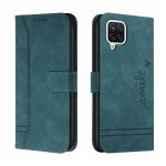 For Samsung Galaxy F62 Retro Skin Feel Horizontal Flip Soft TPU + PU Leather Case with Holder & Card Slots & Photo Frame(Army Green)