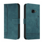 For Samsung Galaxy Xcover 4s Retro Skin Feel Horizontal Flip Soft TPU + PU Leather Case with Holder & Card Slots & Photo Frame(Army Green)