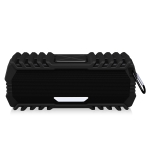 NewRixing NR-5015 Outdoor Portable Bluetooth Speakerr with Hook, Support Hands-free Call / TF Card / FM / U Disk(Black)