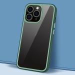 Gorgeous Color Series PC + TPU Shockproof Protective Case For iPhone 13 Pro(Dark Green)