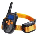 998DC Bark Stopper Remote Control Electric Shock Collar Dog Training Device, Plug Type:AU Plug