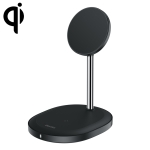 Benks W08 Desktop Magnetic Bracket Wireless Charger (Black)