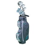 [US Warehouse] MRTISOL 14 in 1 Adult Right Hand Golf Club Set for Women