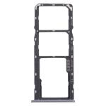 SIM Card Tray + SIM Card Tray + Micro SD Card Tray for OPPO Realme 6 (Black)