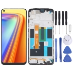 LCD Screen and Digitizer Full Assembly With Frame for OPPO Realme 7 (Asia) 4G RMX2151 RMX2163
