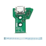 JCD JDS-040 USB Charging Port Board with 12 Pin FPC Flex Cable For PS4