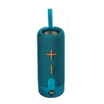 T&G TG619 Portable Bluetooth Wireless Speaker Waterproof Outdoor Bass Subwoofer Support AUX TF USB(Peacock Blue)