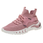 ZM-79 Women Low-Top Breathable Running Shoes Casual Sports Shoes, Size: 37(Pink)
