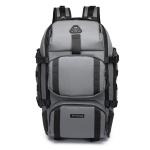 Ozuko 9386 Men Outdoor Multi-Function Travel Mountaineering Backpack(Grey)