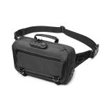 Ozuko 9257 Men Outdoor Sports Waist Bag Anti-Theft Shoulder Messenger Bag(Dark Gray)