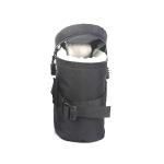 5603 Wear-Resistant Waterproof And Shockproof SLR Camera Lens Bag, Size: L(Black)