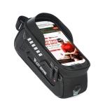 WEST BIKING Bicycle Hard Shell Car Front Beam Mobile Phone Bag(Black)