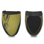 WEST BIKING Bicycle Riding Half Palm Windproof And Warm Lock Shoe Cover, Size: XL(Army Green )