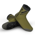 WEST BIKING YP0215049 Cycling Windproof And Warm Shoe Cover, Size: XL(ArmyGreen)
