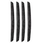 3 Sets DM-047 Rearview Mirror Carbon Fiber Anti-Scratch Door Anti-Collision Strip
