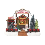 Y-30  Christmas Decorations Christmas Tree Glowing Cottage Ornaments