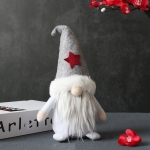 Faceless Doll With Hat Christmas Dwarf Plush Doll(Stars)