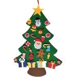 Handmade Felt Christmas Tree Decoration Children DIY Christmas Decorations, Style: New 2
